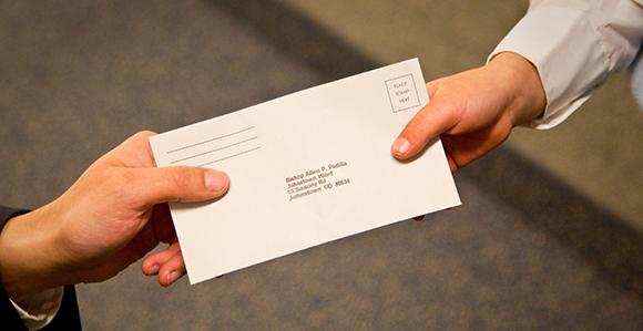 tithing envelope lds