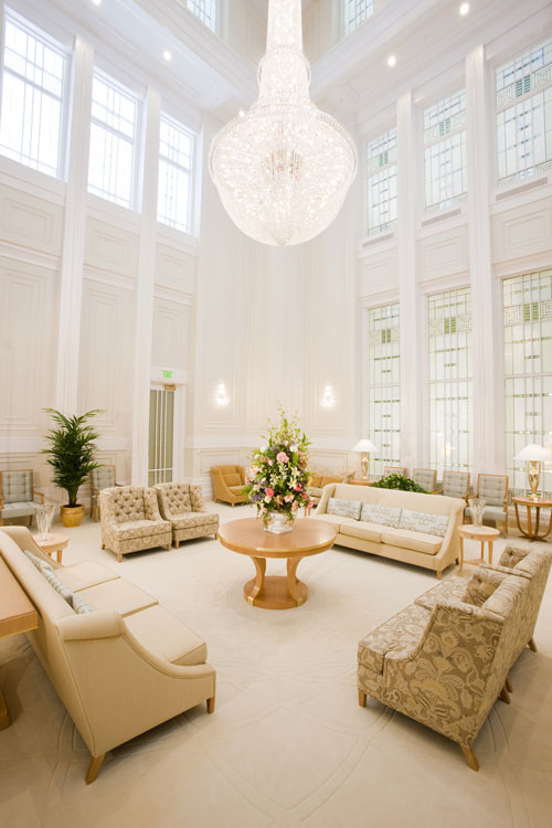 celestial room of draper utah mormon temple