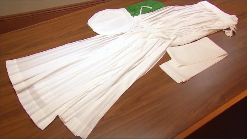 Mormon temple robes